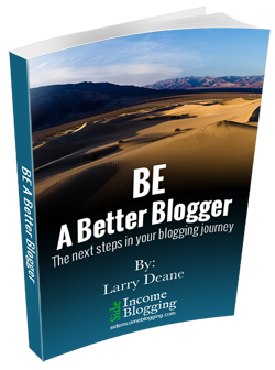 Free EBook: BE a better blogger