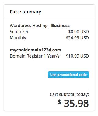 Start a Blog Promotional Code