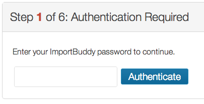 BackupBuddy Authentication