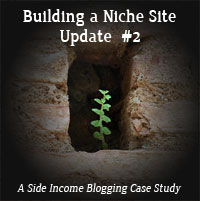 Building a Niche Site Update 2 Thumb
