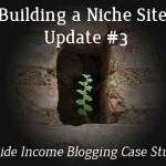 Building a Niche Site Update#3