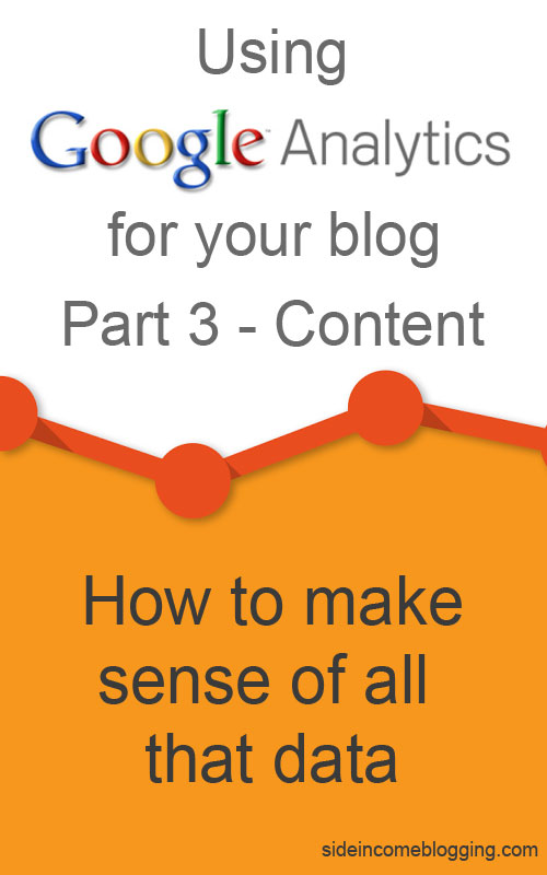 Google Analytics Content Section