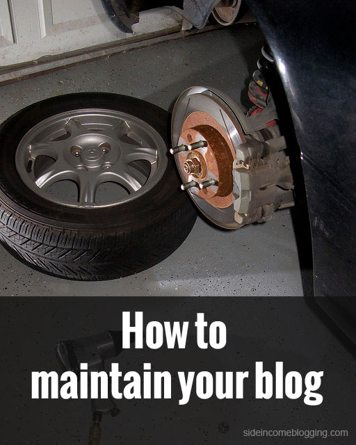 How to maintain your blog