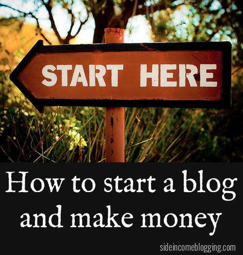 start blog that makes money