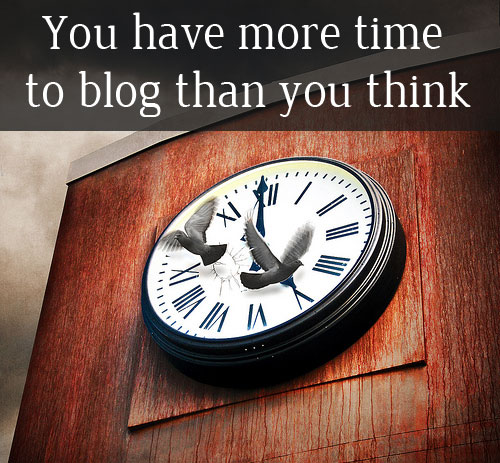 More time to blog