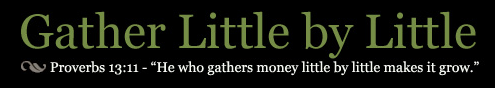 Gather Little By Little