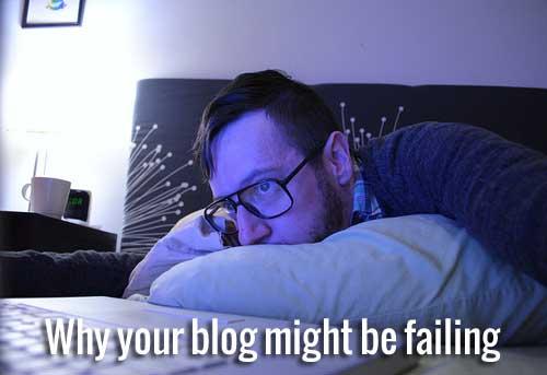 blog failing
