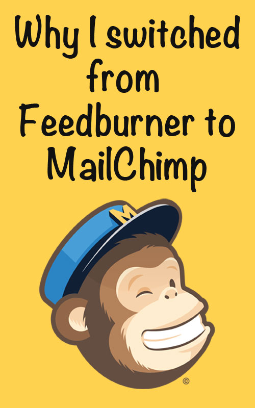 Why I switched from Feedburner to MailChimp