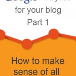 Using Google Analytics for your blog – Audience Overview