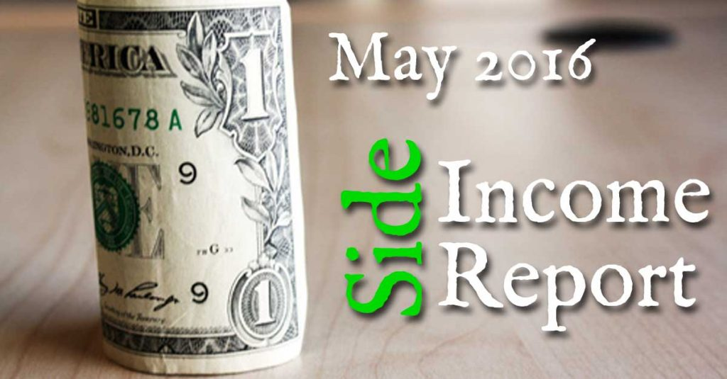 May 2016 Side Income Report