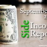 Side Income Report September 2013