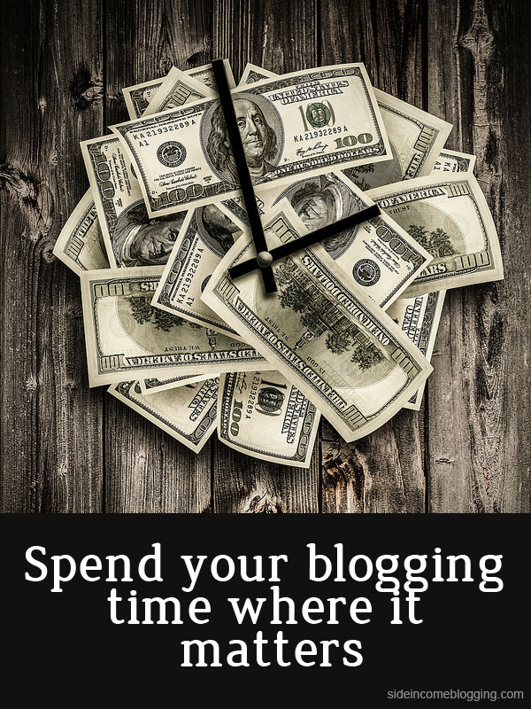 Spend your blogging time