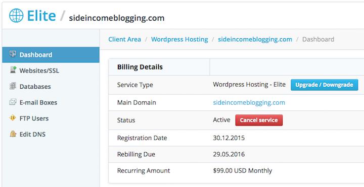 Start a blog - Services