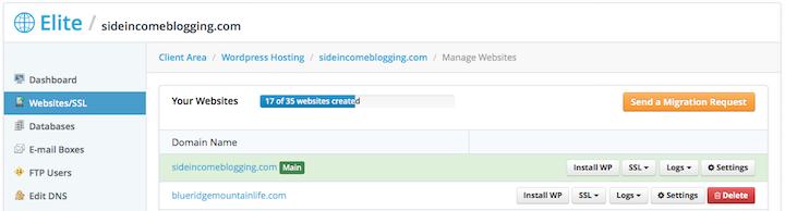 Start a blog - Websites