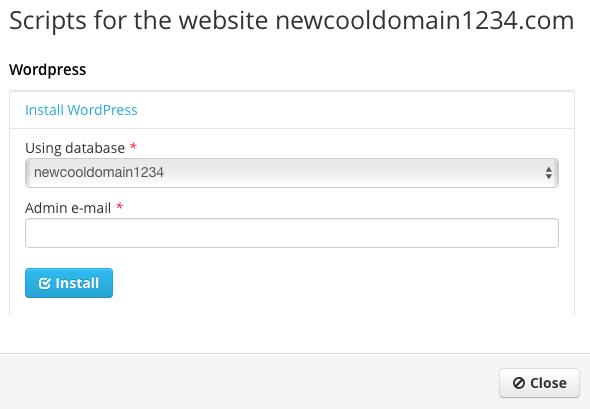 Start a Blog - WordPress Pop-up 2
